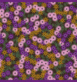multycolor floral seamless pattern vector image vector image