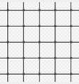prison bars on transparent vector image