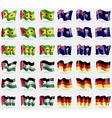Sao Tome and Principe Saint Helena Palestine vector image vector image