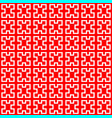 squares pattern background vector image vector image