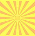 yellow background superhero super hero cartoon vector image vector image