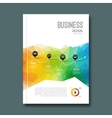 Business design background Cover Magazine vector image vector image