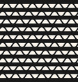 geometric stripes pattern horizontal wavy lines vector image