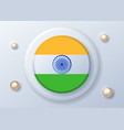 happy indian independence day celebration - 15th vector image vector image