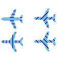 logo airliners vector image