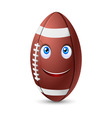 Rugby ball vector image vector image