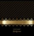 decorative luxury background vector image vector image