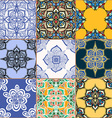 Gorgeous seamless pattern vector image