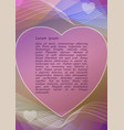 pink and pastel colored abstract background with vector image vector image