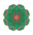 Round ornament Indian pattern Mandala vector image