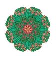 Round ornament Indian pattern Mandala vector image