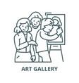 art gallerypainterartists line icon