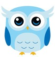 Cute Owl Cartoon vector image vector image