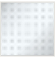 Dotted metal plate vector image