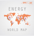 energy map vector image