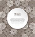 Modern background with interlocking elements