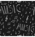 Music seamless Board vector image vector image