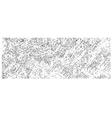 pencil hatched background in white over black vector image vector image