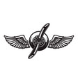 airplane propeller with bird wings design element