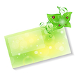 Eco friendly card vector image vector image