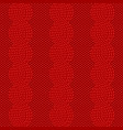 knit red pattern vector image vector image