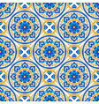 moroccan ceramic tile seamless pattern vector image vector image