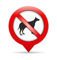 No Dogs Sign vector image vector image