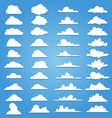 Set of 40 style cloud vector image