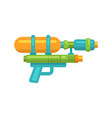 toy water gun flat icon vector image
