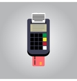 Bank Card Reader vector image