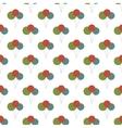 Birthday balloon pattern seamless vector image