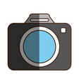 camera draw classic vector image
