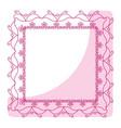 elegant victorian with square shape frame