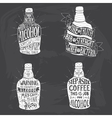 for design of alcohol drink vector image vector image