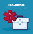 healthcare infographic design vector image vector image