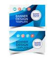 multipurpose layout banner design5 vector image vector image