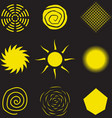 Abstract Sun vector image vector image