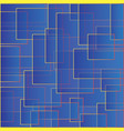 blue backdrop with squares color abstract pattern vector image vector image