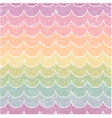 seamless pastel wave pattern vector image vector image