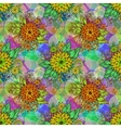 Seamless Tile Floral Pattern vector image vector image