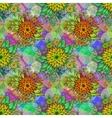 Seamless Tile Floral Pattern vector image