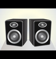 speakers set vector image