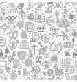bitcoin seamless pattern of vector image