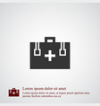 first aid icon simple vector image