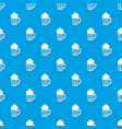 beer pattern seamless blue vector image vector image