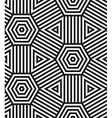 Black and White Seamless Pattern Background vector image vector image