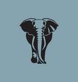elephant sign logo emblem -07 vector image