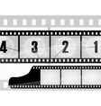 film with a photo vector image vector image