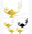 magic lamp vector image vector image