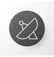 sputnik icon symbol premium quality isolated vector image